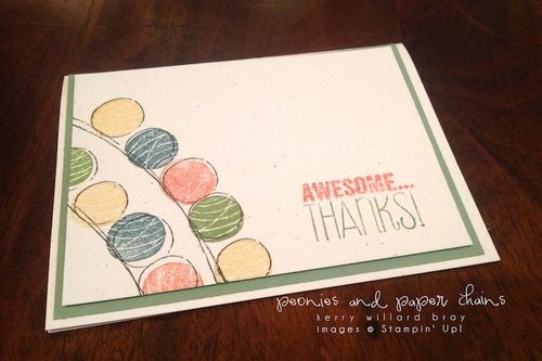 Stampin' Up! Happy Congratulations + Yippee Skippee card by Kerry Willard Bray www.peoniesandpaperchains.com