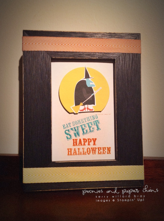 Stampin' Up! Motley Monsters and Paper Pumpkin sign by Kerry Willard Bray www.peoniesandpaperchains.com 2