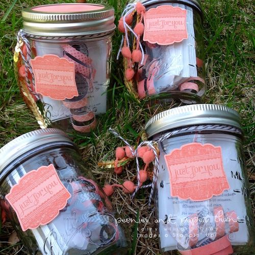Stampin' Up! Label Love gift jars by Kerry Willard Bray 4