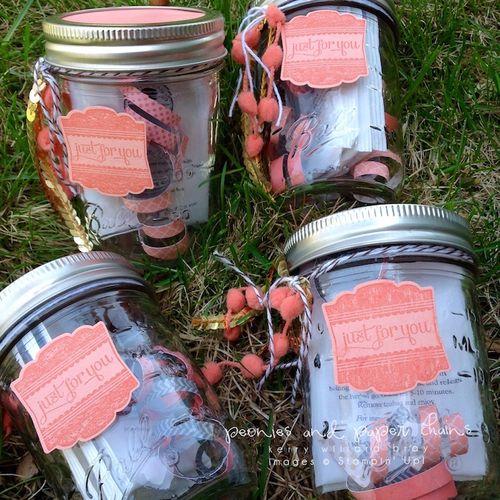 Stampin' Up! Label Love gift jars by Kerry Willard Bray 4