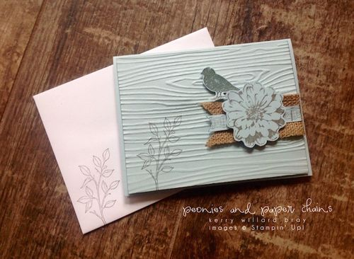 Stampin' Up! Choose Happiness card by Kerry Willard Bray www.peoniesandpaperchains.com